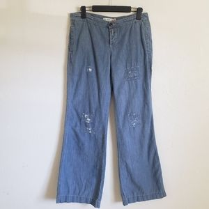 Polo Ralph Lauren Jeans Wide Leg Pants Size 8